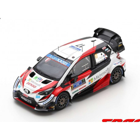 Toyota Yaris WRC 17 Rallye du Mexique 2020 Winner Ogier Ingrassia Spark S6571