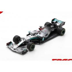 Mercedes F1 W11 EQ Performance 44 F1 Test Barcelona 2020 Lewis Hamilton Spark 18S473