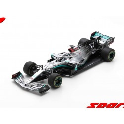 Mercedes F1 W11 EQ Performance 77 F1 Test Barcelona 2020 Valtteri Bottas Spark 18S474