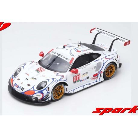 Porsche 911 RSR 911 Winner GTLM Class Petit Le Mans 2018 Spark 12S015