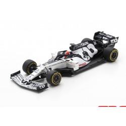 Alpha Tauri Honda AT01 26 F1 Test Barcelona 2020 Daniil Kvyat Spark S6461
