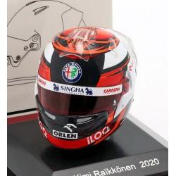 Casque Helmet 1/8 Kimi Raikkonen Sauber F1 2020 Spark HSP054