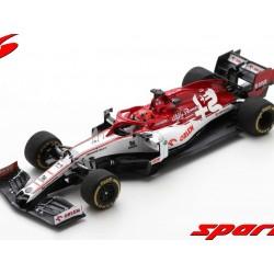Alfa Romeo Sauber Ferrari C39 88 F1 Test Barcelona 2020 Robert Kubica Spark S6454