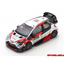 Toyota Yaris WRC 33 Rallye de Suède 2020 Winner Evans Martin Spark S6568