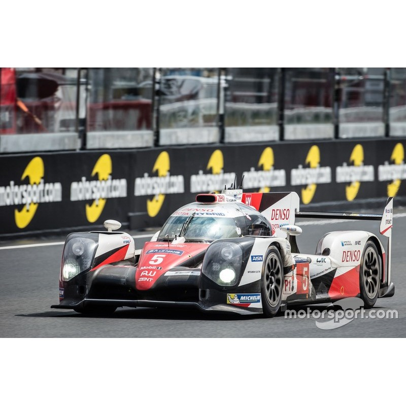 toyota ts050 hybrid 5 24 heures du mans 2016 spark s5102 miniatures minichamps. Black Bedroom Furniture Sets. Home Design Ideas