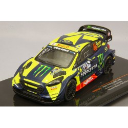 Ford Fiesta RS WRC 46 Monza Rally 2018 Rossi Cassina IXO RAM694