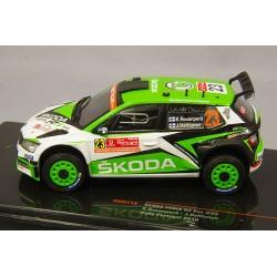 Skoda Fabia R5 Evo 23 Rallye du Portugal 2019 Rovanpera Halttunen IXO RAM716