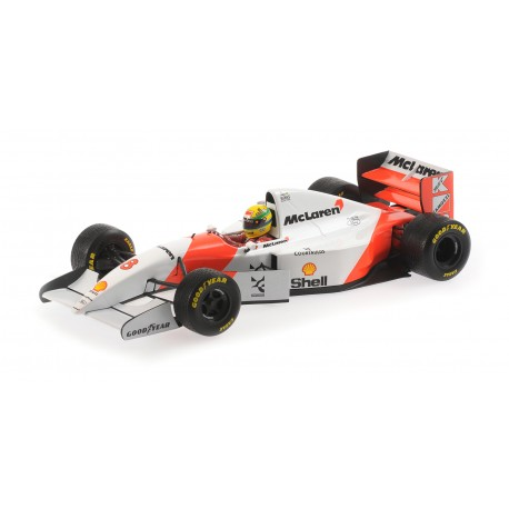 McLaren Ford MP4/8 F1 Europe 1993 Ayrton Senna Minichamps 540931818