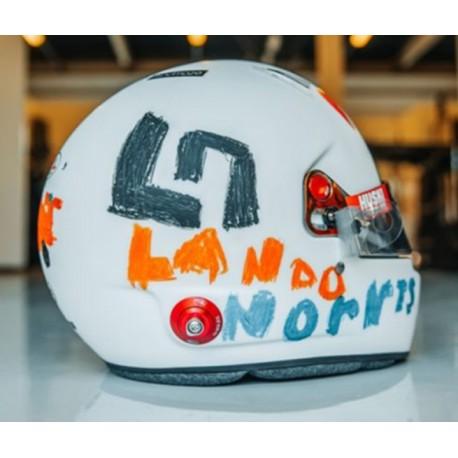 Casque Helmet 1/5 Lando Norris F1 Angleterre 2020 Spark S5HF052