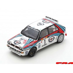 Lancia Delta HF Integrale 1 Rallye Monte Carlo 1992 Juha Kankkunen Juha Piironen Spark S9014