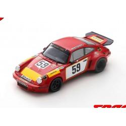 Porsche 911 Carrera RSR 59 24 Heures du Mans 1975 Spark S9974