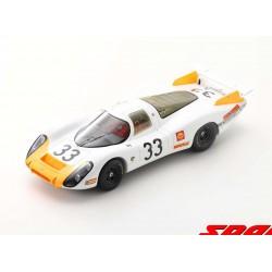Porsche 908/8 33 24 Heures du Mans 1968 Spark 18S518