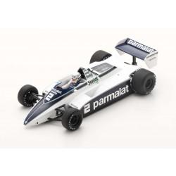 Brabham BT49D 2 F1 Winner Monaco 1982 Riccardo Patrese Spark 18S297