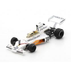 McLaren M23 30 F1 Angleterre 1973 Jody Scheckter Spark S5736