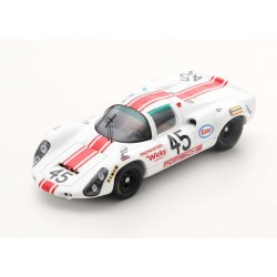 Porsche 910/6 45 24 Heures du Mans 1968 Spark S4686