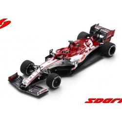 Alfa Romeo Sauber Ferrari C39 7 F1 Test Barcelona 2020 Kimi Raikkonen Spark S6452