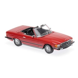 Mercedes Benz 350 SL 1974 Red Minichamps 940033432