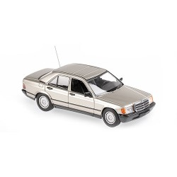 Mercedes Benz 190 E 1984 Gold Metallic Minichamps 940034104