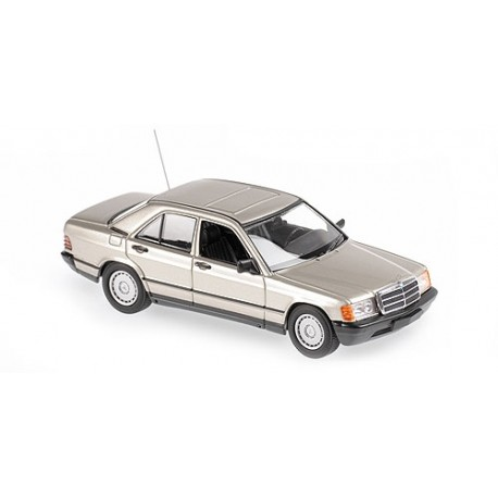 Mercedes Benz 190 E 1984 Gold Metallic Minichamps 940034104