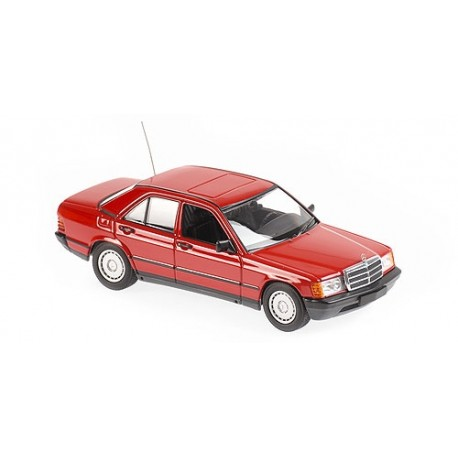 Mercedes Benz 190E 1984 Red Minichamps 940034102