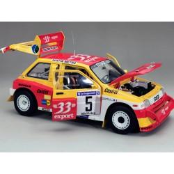MG Metro 6R4 5 Rallye Criterium des Cevennes 1986 Auriol Occelli Sunstar SUN5541