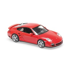 Porsche 911 Turbo (997) 2006 Red Minichamps 940065201