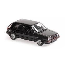 Volkswagen Golf GTI 4 Doors 1986 Black Minichamps 940054124