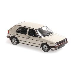 Volkswagen Golf GTI 4 Doors 1986 White Minichamps 940054122