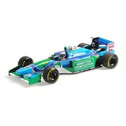 Benetton Ford B194 F1 3ème Hongrie 1994 Jos Verstappen Minichamps 110941006
