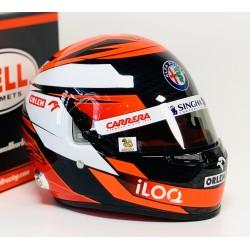 Casque Helmet 1/2 Kimi Raikkonen F1 2020 Bell