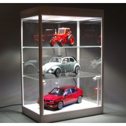 Vitrine Showcase Plexiglass avec Leds 1/43 1/18 Triple9 T9-69927W