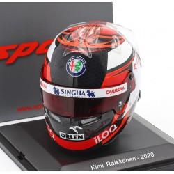 Casque Helmet 1/5 Kimi Raikkonen Sauber F1 2020 Spark S5HF048
