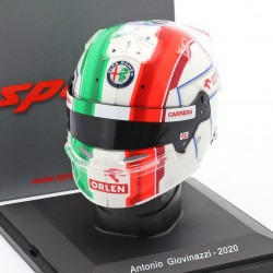 Casque Helmet 1/5 Antonio Giovinazzi Sauber F1 2020 Spark S5HF049