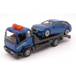 Set dépanneuse avec Audi A6 Blue Bburago BBU18-31418