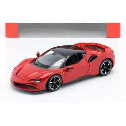 Ferrari SF90 Stradale Red Black Bburago BBU18-26028RED