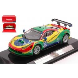 Ferrari 458 Italia GT3 64 24 Heures de Daytona 2015 Bburago BBU18-36305R