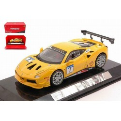 Ferrari 488 Challenge 1 Bburago BBU18-36306YELLOW