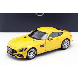 Mercedes AMG GT S C190 Yellow Metallic Norev B66960484