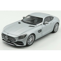Mercedes AMG GTS C190 Silver matt Norev B66960485