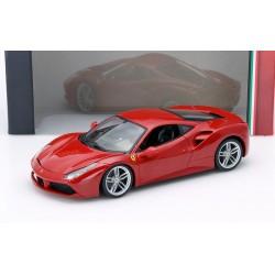 Ferrari 488 GTB Rouge 2015 Bburago 16008R