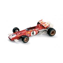 Ferrari 312B 4 F1 Italie 1970 Clay Regazzoni Brumm R313