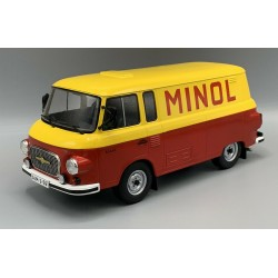Barkas B 1000 Kastenwagen Minol 1970 Yellow Red MCG MCG18210
