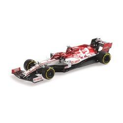 Alfa Romeo Sauber Ferrari C39 88 F1 Test 19/02/2020 Robert Kubica Minichamps 417209988