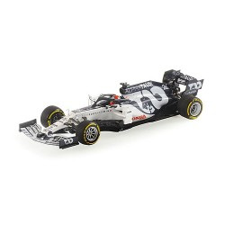 Alpha Tauri Honda AT01 26 F1 Launch Spec 2020 Daniil Kvyat Minichamps 417200026