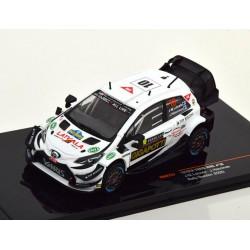 Toyota Yaris WRC 10 Rallye de Suède 2020 Latvala Anttila IXO RAM757