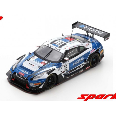 Nissan Nismo GTR GT3 18 24 Heures de Spa Francorchamps 2019 Spark SB262