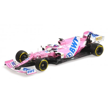 Racing Point Mercedes RP20 11 F1 Launch Spec 2020 Sergio Perez Minichamps 417200011