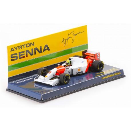 McLaren Ford MP4/8 F1 Winner Japon 1993 Ayrton Senna Minichamps 540934378