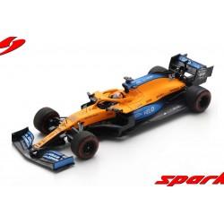 McLaren Renault MCL35 55 F1 Test Barcelona 2020 Carlos Sainz Jr Spark S6463