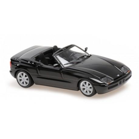 BMW Z1 E30 1991 Black Metallic Minichamps 940020102